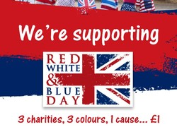 Friday 18th May Red White and Blue Day