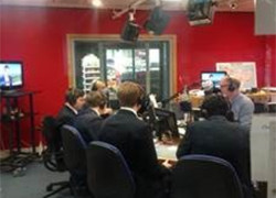 Year 12 History pupils interviewed live on BBC Radio Kent