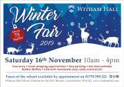 Witham Hall Winter Fair 2019