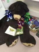 Cherry Class Daddy Bear Reading